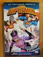 New Super-Man v2 Coming To America excellent condition  Rebirth