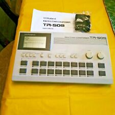 VINTAGE ROLAND TR505 RHYTHM COMPOSER W NEW AC ADAPTER, MANUAL EXCELLENT WORKING