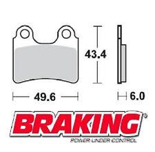 BRAKING PASTIGLIE ANTERIORI BETA REV3 250 2000-2008 BRAKE PADS FRONT