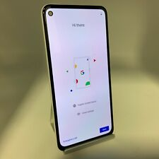 Google Pixel 4a 5G 128GB Clearly White Unlocked Good Condition