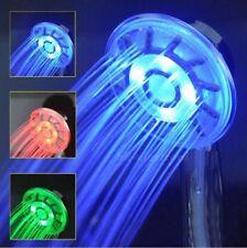 Soffione Luminoso Per Doccia Con Led Rosso Verde Blu.Bagno Cromoterapia dfh