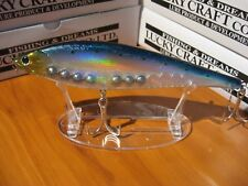 "Lucky Craft 8"" Slow Sinking Fishing Lure 2.5 Oz Pointer 200 Laser Ghost Sardine"
