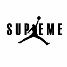 Michael Jordan Decal Basketball Logo Vinyl Window Sticker Laptop Ipad