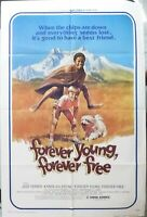 Forever young,forever free Movie Poster,Original,Folded,1976,1-Sheet,Jose Ferrer