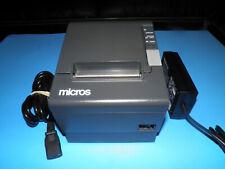 NEW Micros Epson TM-T88IV  M129H Thermal POS Receipt Printer Serial w AC Adapter