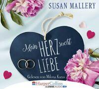 MILENA KARAS -  SUSAN MALLERY: MEIN HERZ SUCHT LIEBE 4 CD NEW