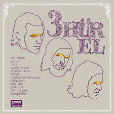 70's TURKISH UNDERGROUND PSYCH FUNK PROG LP  3 HUR-EL 3 HUREL Guerssen Records