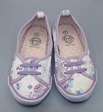 """Pumpkin Fatch"" Girls Purple Canvas Shoes Size UK 9."