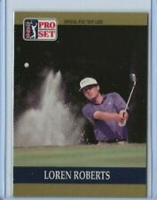 1990 Pro Set Loren Roberts rookie card
