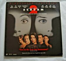 Scream 2 Widescreen Laserdisc Horror Movie - 2 Laserdiscs - FREE SHIPPING!!!