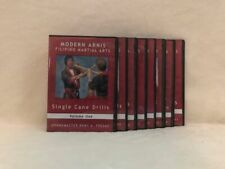 Modern Arnis Filipino Martial Arts (8) Dvd Set cane espada escrima empty hands