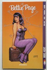 Bettie Page Model Agent Vol. 2 Dynamite Graphic Novel Comic Book