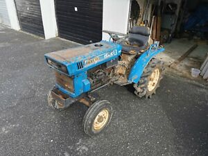 Iseki  Compact Tractor. Diesel. 3 point linkage. PTO