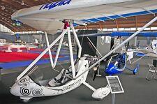 Streamer Keitek Italy Ultralight Airplane Wood Model Replica Small Free Shipping