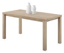 Mesa fija para comedor o salón de 152x82 color roble