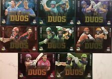 2018/19 Tap N Play ..  BBL DUOS Complete Set of 8... 1 Of Each Team