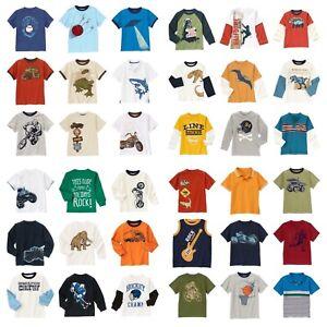 NWT GYMBOREE Boys Tee SS LS Tee Polo Shirt Top