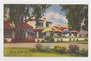 Carlsbad b y the Sea,CA.Royal Palms Inn,San Diego County,Linen,c.1940s