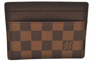 Authentic Louis Vuitton Damier Pass Case LV 0433A