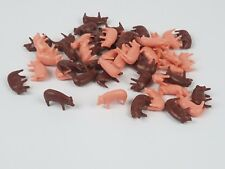 1/64 Ertl Farm Country brown pink hogs pigs lot of 50 Duroc Yorkshire