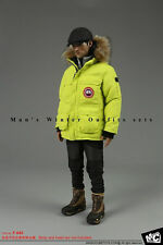 Magic Cube Toys 1/6 F-043 Man's Winter Outfits Expedition Down Parka clothing