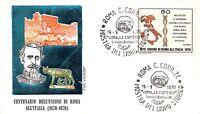 FDC ROMA - Italia 1970 - Unione di Roma all'Italia - NVG - speciale Roma