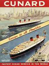 ART PRINT POSTER ADVERT TRAVEL TOURISM SHIP LINER ATLANTIS VENICE NOFL0558