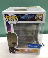 Funko POP! Marvel Guardians of the Galaxy Vol. 2 Groot #212 Walmart Exclusive