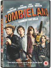 ZOMBIELAND (2009) UK REGION 2 DVD NEW SEALED HORROR COMEDY EMMA STONE WOODY HARR