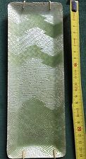 ANDO Cloisonnè - vassoio portapenne - verde e argento - originale