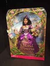 Barbie as The Island Princess, Singing Luciana, Brunette Black Hair - NRFB
