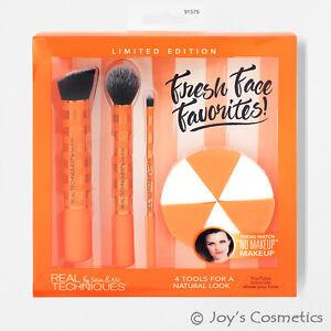 "1 REAL TECHNIQUES Fresh Face Favorites Brush Set ""RT-1576""  *Joy's cosmetics*"