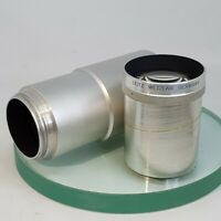 Lens made in Germany  LEITZ WETZLAR GERMANY   f = 200mm Tested  #634