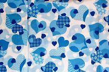 NEW Scrubs   ~   V Neck Print Scrub Top   ~   XS   ~   Love & Care Cool Blue
