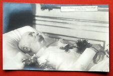 Franz Joseph Catafalque #1 Emperor King 1910'S Vintage Austria Death Bed Photo