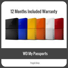Western Digital WD Passport 1TB 2TB 3TB 4TB 2.5 Portable External Hard Drive HDD