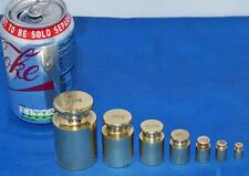 Vintage Set of 7 English Calibration Weights 500g-5g for Balance Scale [PL2306]