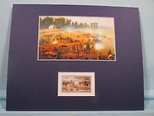 The Battle of Antietam - The Fight at Dunker's Church honored by its own stamp