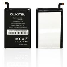 Bateria compatible para Oukitel K6000 / K6000 Pro (3.8V, 6000 mAh)