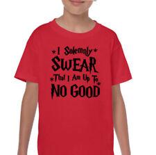 Magliette, maglie e camicie rossi grafici per bambini dai 2 ai 16 anni 100% Cotone