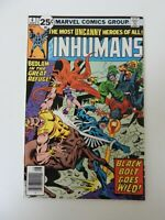 Inhumans #6, VF/NM 9.0, Black Bolt, Medusa, Gorgon, Karnak