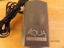 AQUA CULTURE MK-1501 AQUARIUM FISH TANK AIR PUMP~5-15 GALLONS~VERY QUIET~120V~2W