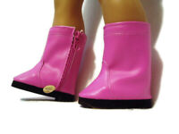 Pinkish/Purple Riding Boots fits American girl dolls 18 inch Doll Clothes