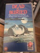 Dead And Buried (vhs)