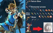Zelda Breath Of The Wild Archer Link Amiibo Nfc Tag Switch Wii U NO CARD
