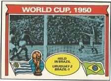 TOPPS 1978 FOOTBALLERS #340-WORLD CUP 1950