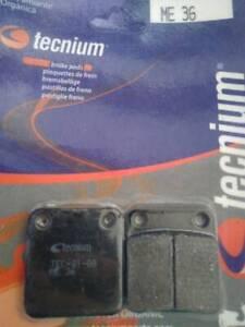 Plaquettes frein Daelim Otello 125 1999 à 2008 Tecnium (ME36) Avant