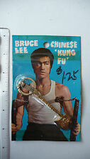RARE - 1970s Bruce Lee Keychain, golden Long Axe - SEALED