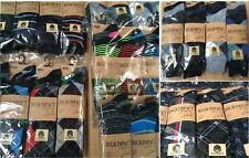 48, 36 PAIRS OF MENS SOCKS ASSORTED SIZE 6-11 WHOLESALE JOB LOT 24 & 12 Job lot