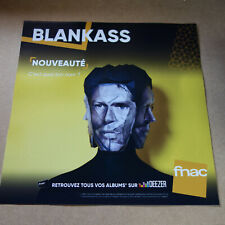 BLANKASS - C'EST QUOI TON NOM? - PLV 30 X 30 CM !!!!!!DISPLAY !!!